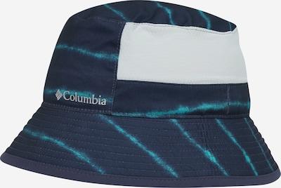 COLUMBIA Chapeau 'Booney' en beige chiné / marine / bleu ciel, Vue avec produit