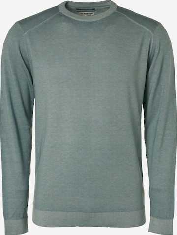 No Excess Pullover in Blau