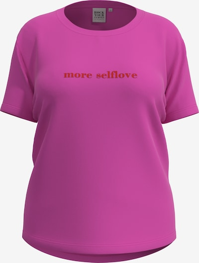 Rock Your Curves T-Shirt in pink, Produktansicht