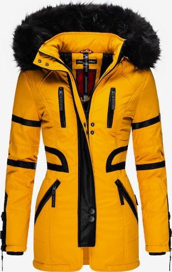 NAVAHOO Winter Coat 'Moon' in Yellow / Black, Item view