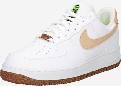 Sneaker low 'Force 1 '07 LV8' Nike Sportswear pe maro deschis / alb, Vizualizare produs