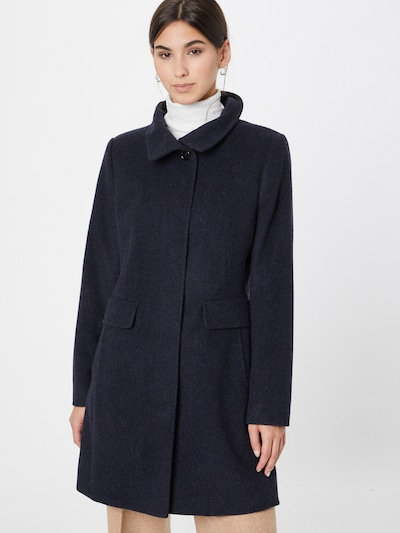 GIL BRET Between-Seasons Coat in Navy, View model