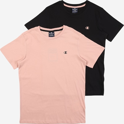 Champion Authentic Athletic Apparel Shirt in rosa / schwarz, Produktansicht