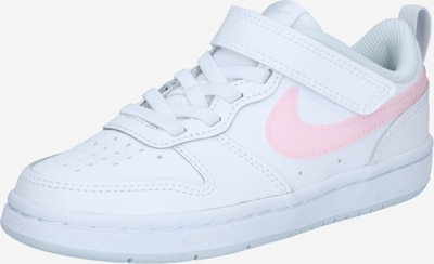 Nike Sportswear Sneakers 'COURT BOROUGH' in Light pink / White, Item view