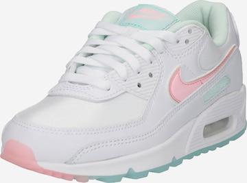 Nike Sportswear Rövid szárú edzőcipők 'Air Max 90' - fehér