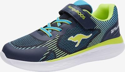 KangaROOS Sneaker in hellblau / limette, Produktansicht