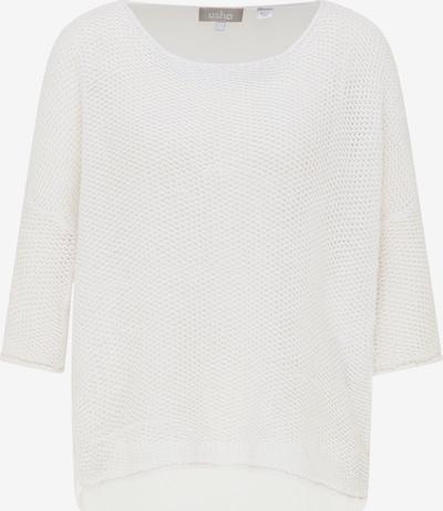 Usha Pullover in weiß, Produktansicht
