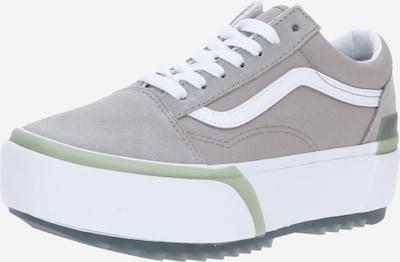 Sneaker low VANS pe gri deschis / alb: Privire frontală