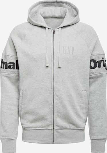 GAP Sweatjakke i grå / sort, Produktvisning