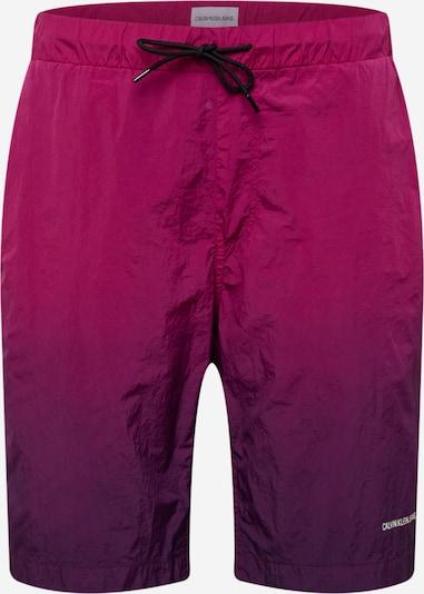 Calvin Klein Jeans Nohavice - neónovo fialová / fuksia, Produkt
