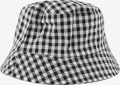 PIECES Hattu 'Laya' värissä vaaleanharmaa / musta / valkoinen, Tuotenäkymä