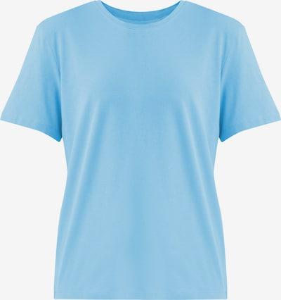 Finn Flare Rundhals-Shirt in hellblau, Produktansicht