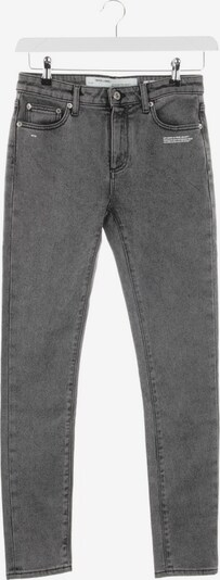 Off-White Jeans in 28 in grau, Produktansicht