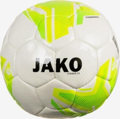 JAKO Ball 'Striker 2.0' in neongelb / neongrün / schwarz / weiß, Produktansicht