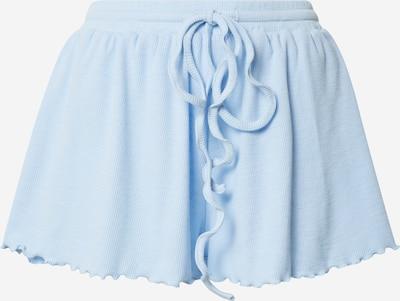 Pantaloni GLAMOROUS pe albastru deschis, Vizualizare produs