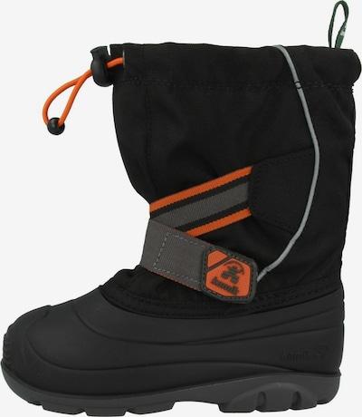 Kamik Boots ' Ziggy ' in de kleur Grijs / Sinaasappel / Zwart, Productweergave