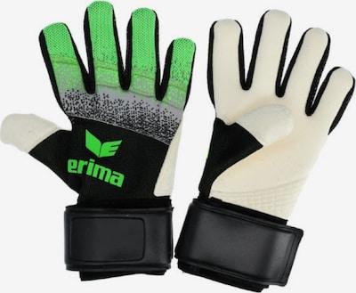 ERIMA Handschuh in kiwi / schwarz / wollweiß, Produktansicht