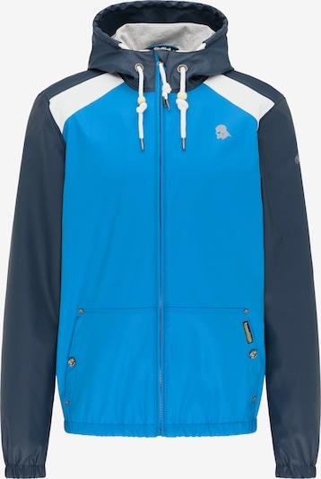 Schmuddelwedda Functionele jas in de kleur Blauw / Nachtblauw / Wit, Productweergave