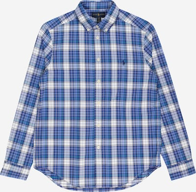 POLO RALPH LAUREN Košeľa - modrá / tmavomodrá / biela, Produkt
