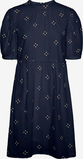 VERO MODA Kleid 'Asta' in dunkelblau / puder, Produktansicht
