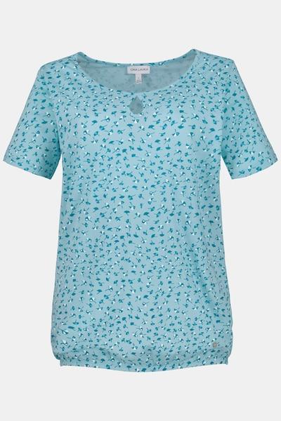 Gina Laura T-Shirt in blau / türkis, Produktansicht
