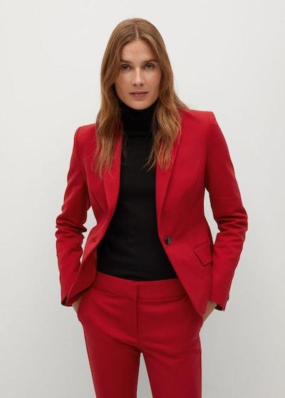 MANGO Blazer 'Cofi' in rot, Modelansicht