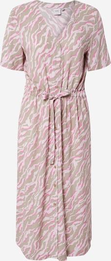 ICHI Obleka | bež / siva / roza barva, Prikaz izdelka