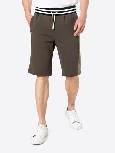Bogner Fire + Ice Панталон 'Leon' в маслина / неоново зелено / черно / бяло, Преглед на модела