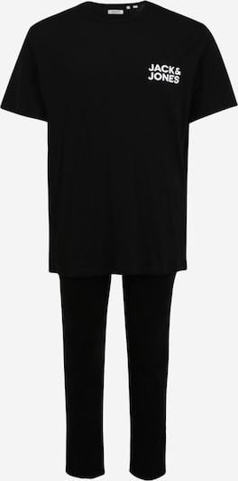 Jack & Jones Plus Dlhé pyžamo - čierna / biela, Produkt