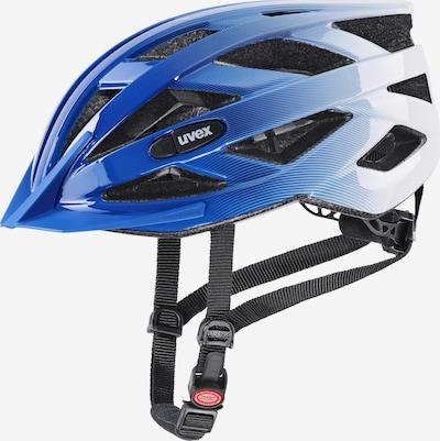 UVEX Helm in blau / weiß, Produktansicht