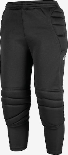 REUSCH Torwarthose 'Contest II 3/4 Short Junior' in schwarz / silber, Produktansicht