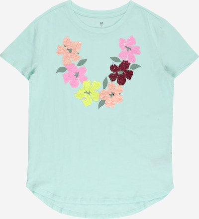 GAP Shirt in Light yellow / Mint / Salmon / Light pink / Ruby red, Item view