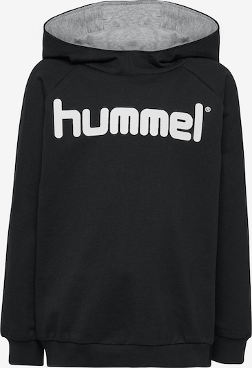 Hummel Hoodie in schwarz, Produktansicht
