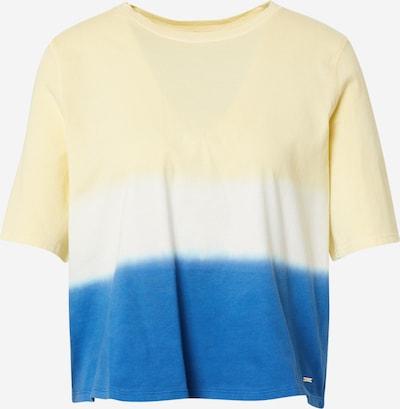 TOM TAILOR DENIM Tričko - modrá / žlutá / bílá, Produkt