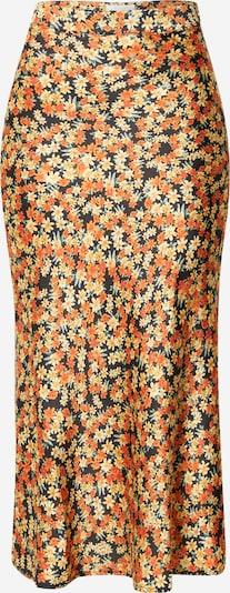 VILA Falda en amarillo / verde / naranja / negro, Vista del producto