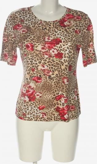 tru T-Shirt in L in braun / rot / schwarz, Produktansicht