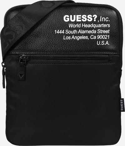 GUESS Umhängetasche  'MASSA' in schwarz / weiß, Produktansicht