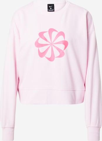 Hanorac sport de la NIKE pe roz