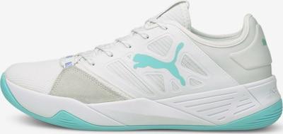 PUMA Sportschoen in de kleur Aqua / Lichtgrijs / Wit, Productweergave