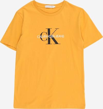 Calvin Klein Jeans T-Shirt in gelb / schwarz / weiß, Produktansicht