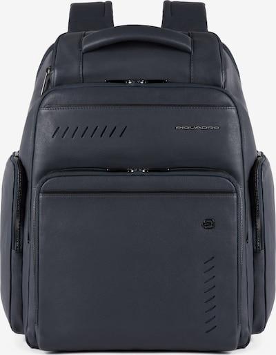 Piquadro Nabucco Fast-Check Rucksack RFID Leder 43 cm in dunkelblau, Produktansicht