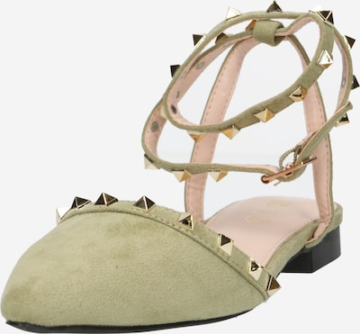 Raid Strap ballerina 'LAURENA' in Olive, Item view