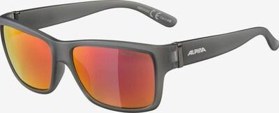 Alpina Sonnenbrille in grau / weiß, Produktansicht