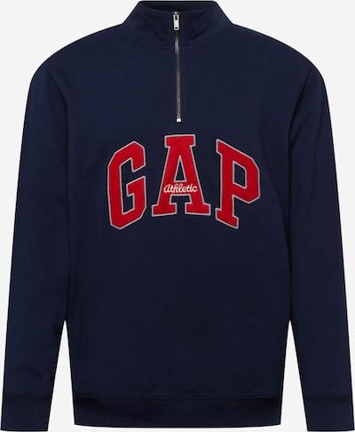 GAP Sweatshirt in navy / feuerrot / weiß, Produktansicht