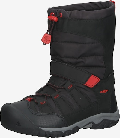 KEEN Boots in feuerrot / schwarz, Produktansicht