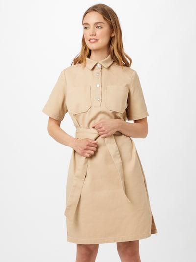 minimum Kleid 'JASI' in hellbeige, Modelansicht