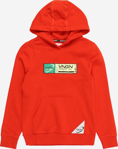 VINGINO Sweatshirt 'Nastor' in hellgelb / grün / knallrot / schwarz, Produktansicht