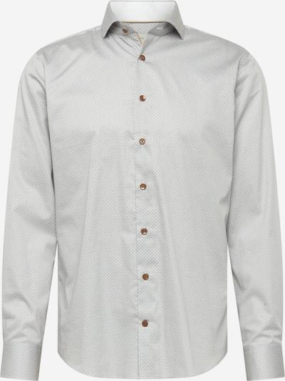 bugatti Hemd in royalblau / silbergrau / weiß, Produktansicht