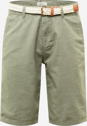 ESPRIT Pantalon chino en kaki, Vue avec produit