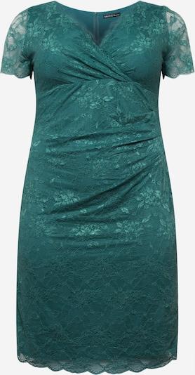 SWING Kleid in smaragd, Produktansicht